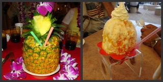 Picnik collage Hawaii drinks