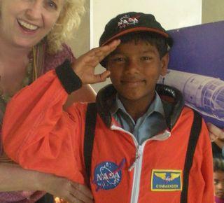 NASA boy