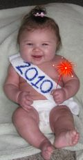 New Year Baby Ellie