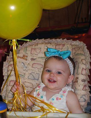 Birthday girl at VBS