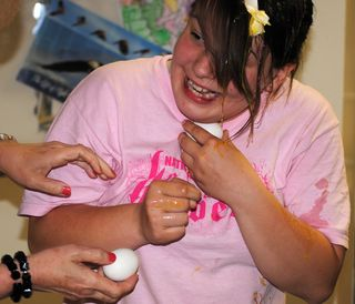 Ruth with Egg on Face