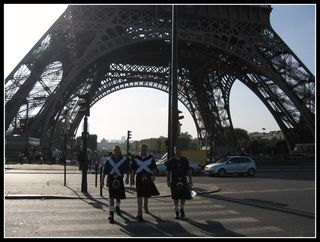 Eiffel Tower during World Cup