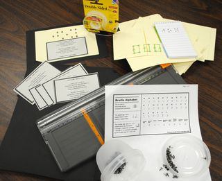 Braille Craft Items
