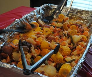Christmas Shrimp Boil