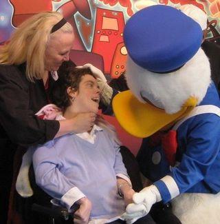 Lisa at Disney