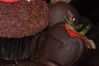 Cupcake & Strawberry