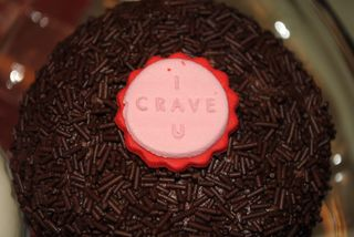 CRAVE Chocolate Cupcake