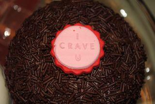 CRAVE Chocolate Cupcake